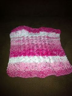 Free Knitting Pattern - Dishcloths & Washcloths : Twist and Scrub Dishcloth