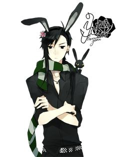 Anime Bunny Boy Render by bbernkastel on deviantART
