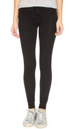 Sundry Skinny Sweatpants - Black