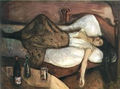 the day after / edvard munch