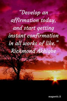 You are what you think, and thoughts are affirmations. Read my blog post to discover if positive affirmations really work