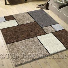 Arco Brown Modern Floor RUG 80x150 RRP $249 NEW   eBay