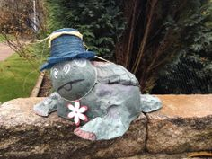Grosse Schildkröte - Schildkröte schwimmend - Geschenk - Ladendekoration - BOX -
