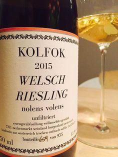 #Welschriesling in dieser Qualität kannte ich bisher nur von Velich und Schiefer. Sensationell! (Richard Yoder)
