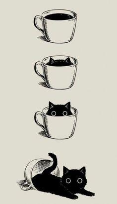 46 Ideas Funny Cute Illustration Cat Art #funny #art