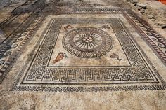 Roman Mosaic Unearthed in Southern France