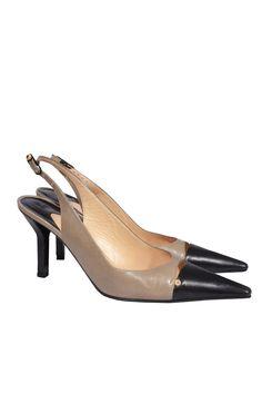 #Chanel #shoes #elegant #classy #fashionblogger #designer #onlineshop #vintage #clothes #secondhand #style #mymint