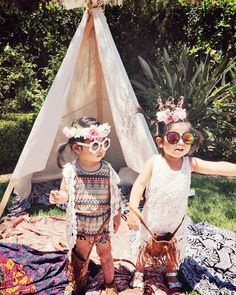 """This adorable """"kidchella"""" themed birthday party is so creative and cute! There are so many great ideas here for your next children's party!"""