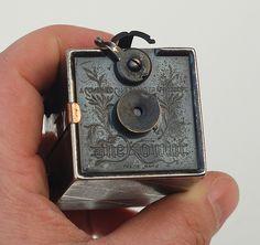 The Kombi - a tiny metal box camera John Kratz Photography Camera, Vintage Photography, Pregnancy Photography, Photography Business, Portrait Photography, Fashion Photography, Wedding Photography, Antique Cameras, Vintage Cameras