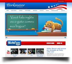 Site Birkmeier Idiomas