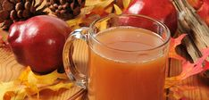cider and tea