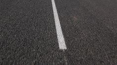 Lines on the Asphalt Road