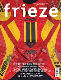 """Contemporary art magazine Frieze redesigns to be """"less beautiful""""  #cover #spread #layout #design #graphic #typography #grid #grafikdesign #gestaltung #editorial"""