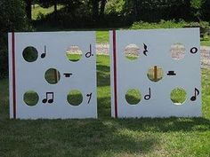 Fun games for summer music camp....festivals/activity day station?