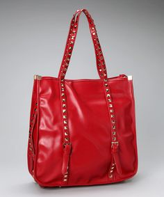 Take a look at this Red Kiana Tote by Shades of Red: Apparel & Accessories on #zulily today!