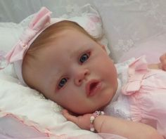 Reborn Doll Baby Girl Sold Out Le Angelina Romie Strydom Sculpt | eBay