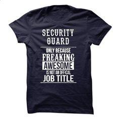 Security Guard T-Shirt - #sweatshirt refashion #burgundy sweater. SIMILAR ITEMS => https://www.sunfrog.com/LifeStyle/Security-Guard-T-Shirt-49828773-Guys.html?68278