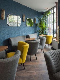 Photos | Hôtel André Latin Paris | Bar à cocktails | Paris Rive Gauche | Jardin du Luxembourg | Panthéon | Quartier latin