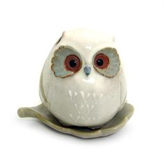 Imported from Japan - Baby Owl - Incense Holder