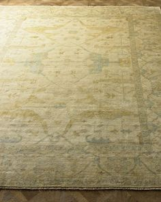 Meadow+Oushak+Rug+by+Exquisite+Rugs+at+Horchow.
