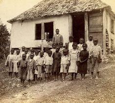 Rural Schoolhouse, Jamaica   Item: 1-527 Title: West India P…   Flickr