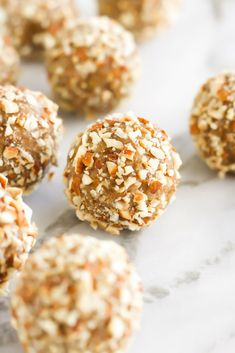 Vegan Salted Caramel Almond Balls - Amy Le Creations