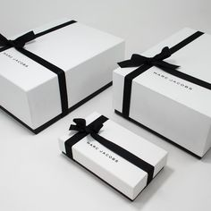 ~ Living a Beautiful Life ~ Marc Jacobs - packed wrappedideas for jewerly logo design inspiration boxesWhen you design packaging for a living, shopping's considered research.like the ribbons - gift like boxesThe Packaging Design Process - Part 1