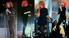 Hayley Williams Writing The Future outfit 2>>.>> I was at the concert in the middle left.