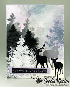 Stempel Spass: Muse Christmas Vision #58