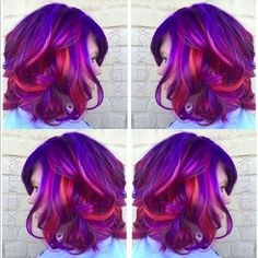Get the Look: Summer Sunset Hair Color by Ash Fortis
