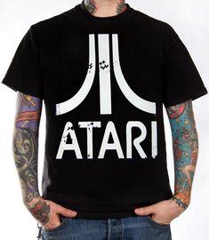 Click for Full Size Image of Atari, T-Shirt, Logo