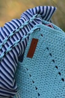 bandorka: Háčkovaná letní kabelka Crochet, Bags, Accessories, Fit, Fashion, Handbags, Moda, Shape, Fashion Styles