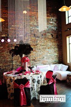 pink and black wedding, events 1418, nashville weddings, harmony designs, enchanted florist, #nashvillewedding, @Caprice Palmer | The Enchanted Florist