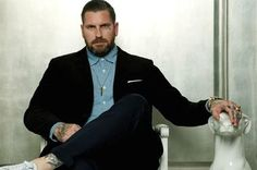 Style.com: The Online Home of Fashion: News, Runway Shows, Trends, Fashion Models, Designers, Shopping, Beauty, and Entertainment. Great article onTattooer and Style icon Luke Wessman