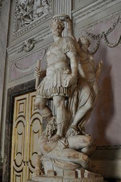 Royal Palace of Caserta. Italy