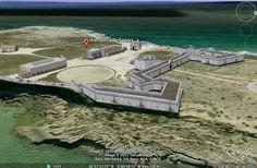 Modelação 3D da Fortaleza de Sagres, em Sagres.  Pode visitar este nosso trabalho na camada earth do google maps.