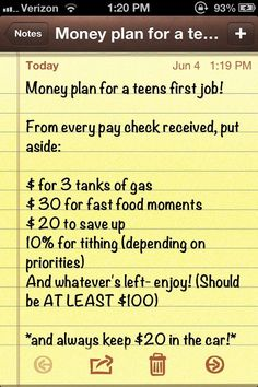 Money planning for a teenagers first job. Wish i would've used this from th , Money planning for a teenagers first job. Wish i would've used this from th. Money Plan, Money Tips, Money Saving Tips, Money Budget, Money Savers, The Plan, How To Plan, Simple Life Hacks, Useful Life Hacks