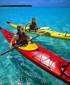 Sea kayaking in Greece - I WANT TO DO THIS!!!  #ROXYOutdoorFitness #giveaway #prizes #PinToWin #sweepstakes #contest