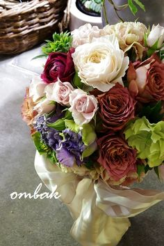 wedding bouquet | ombak