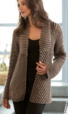 Glamour Jacket Free Knitting Pattern