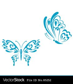 teal butterfly tattoo -pcos awareness symbol