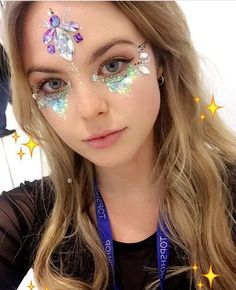 Festival jewels and glitter