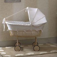 Blanco y azul de bebé bordado inglés Saco//Delineador Para Cochecito Y Sillita