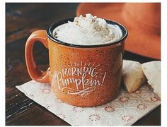 White girl Pumpkin Spice cup