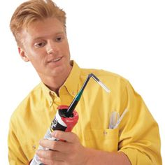 DIY Tip of the Day: Caulking Extender. If you have to get caulk into a tight spot, just tape a flexible drinking straw to the tip of your caulking gun. You'll be ready to caulk into any nook the straw will reach. - Al Danas