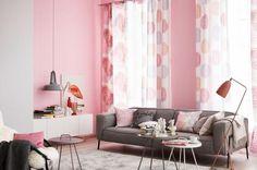 die besten 25 malvenfarbene vorh nge ideen auf pinterest romantisches wohnzimmer lila. Black Bedroom Furniture Sets. Home Design Ideas