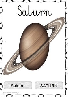 UKŁAD SŁONECZNY – plansze zestaw 1 – Przedszkolankowo Sistema Solar, Kids Homework, Space Activities, Kids Poster, Solar System, Kids Learning, Montessori, Education, Astronomy