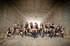 Dance Company Promo, group photo