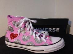 Bling Wedding Shoes, Wedding Sneakers, Wedding Converse, Bling Shoes, Bridal Shoes, Roshe Sneakers, Converse Sneakers, Custom Converse, Custom Sneakers