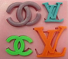 #ChanelLouisVuittonSiliconeMold http://www.itacakes.com/product-category/silicone-molds/fashion-molds/